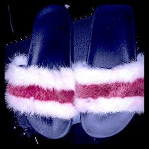 Authentic Givenchy mink slippers HUGE SALE wknd!